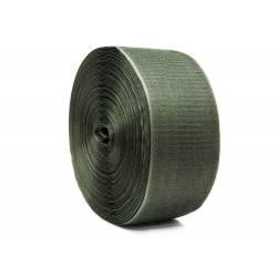 Лента липучка пришивная шир.100мм цв.хаки уп.25м (пара)