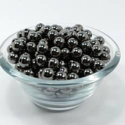 Бусины 500гр BS-ABC Темный никель 12мм 500шт