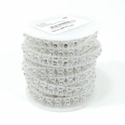 Тесьма декоративная 26м АА-033 Белая